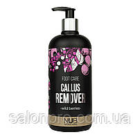 Средство для педикюра NUB Foot Care Callus Remover Wild Berries, 500 мл