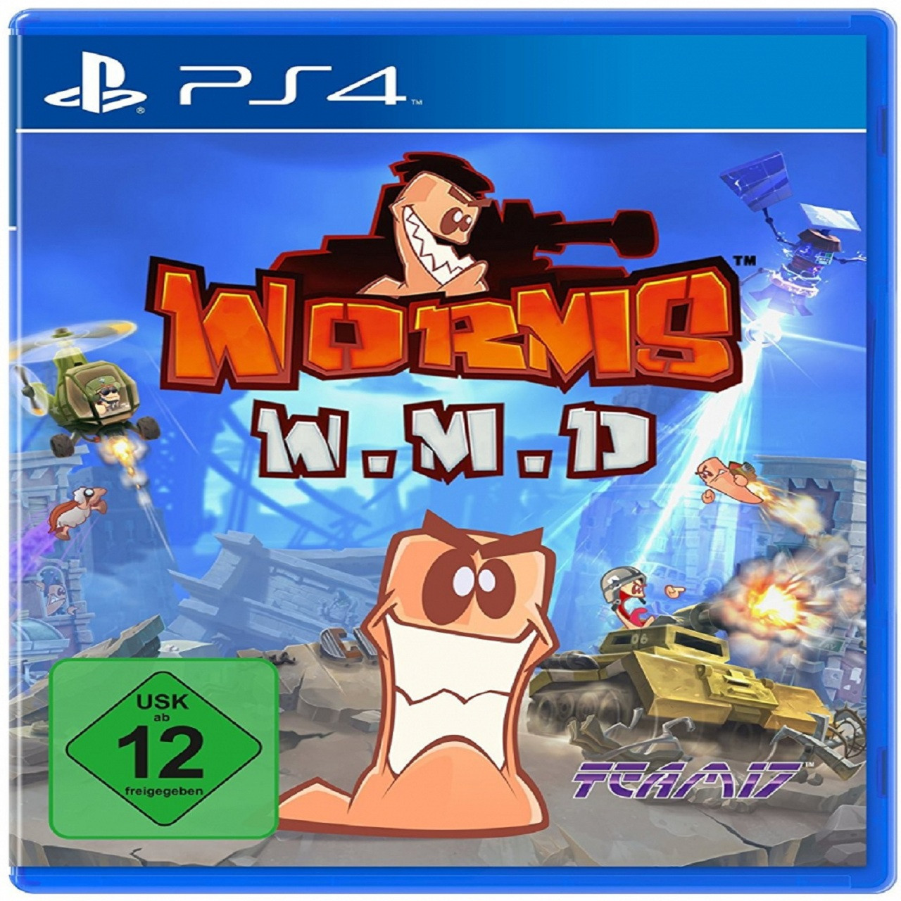 Worms: W.M.D RUS PS4 (NEW)