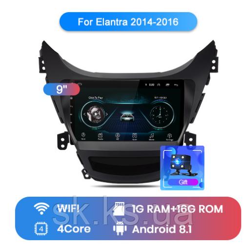 Junsun 4G Android магнитола для hyundai Elantra  2014 2015 2016 wifi