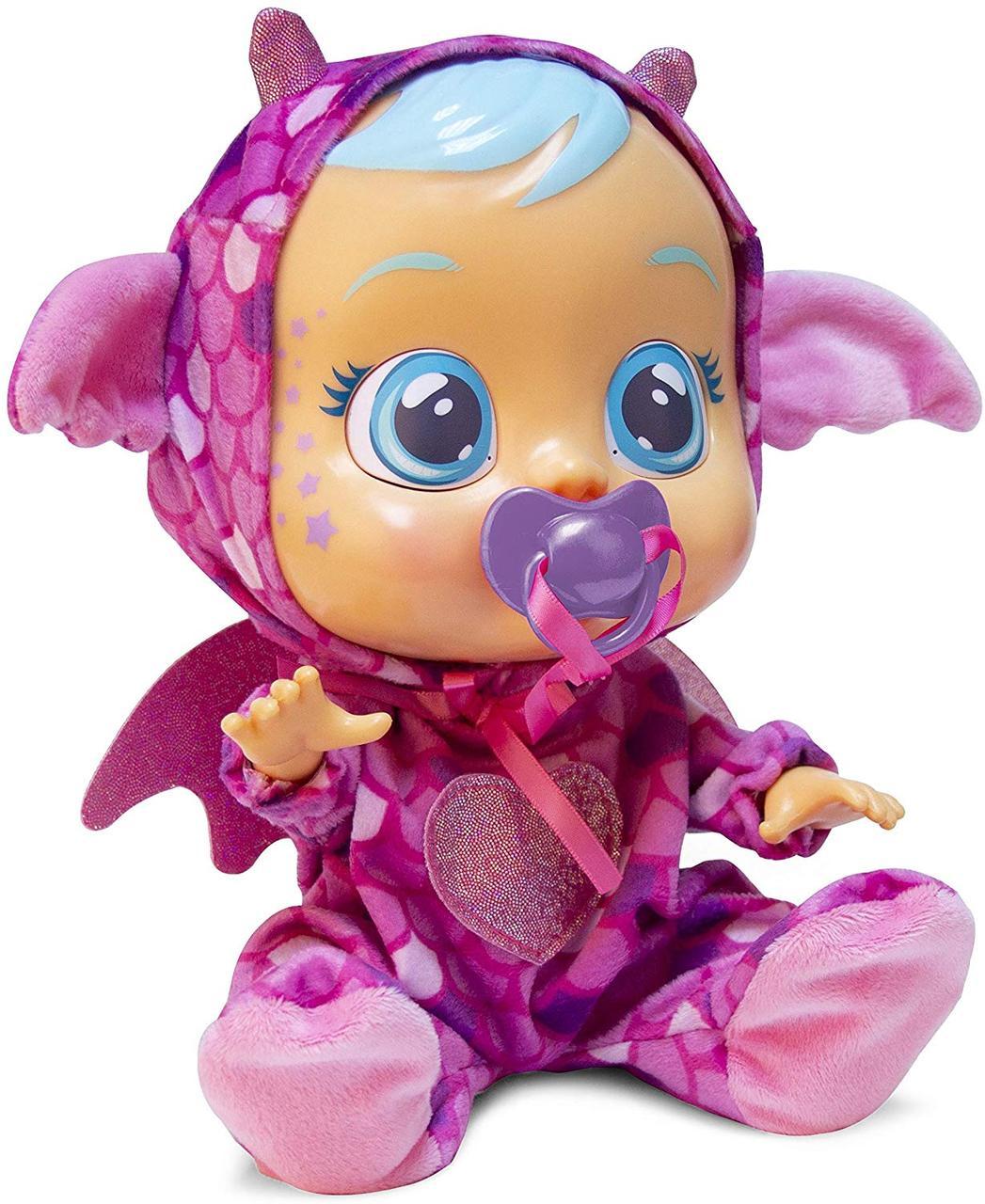 Лялька пупс плакса Бруні дракончик MC Toys Cry Babies Bruny The Dragon