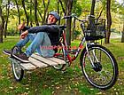 Электровелосипед с боковым прицепом Салют F-5 26 дюйма 350W 36v, фото 3