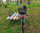 Электровелосипед с боковым прицепом Салют F-5 26 дюйма 350W 36v, фото 4