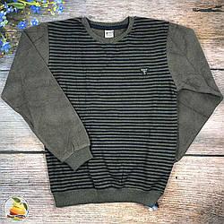 Кашеміровий джемпер з смужками для хлопчика підлітка Розміри: 9,10,11,12 років (9265)