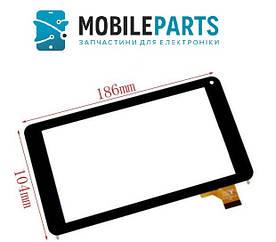 Сенсор (Тачскрин) для планшета Archos 70c Cobalt AC70CCO (186*104mm) (Черный) Оригинал Китай