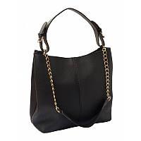 Женская сумка кожаная Ricco Grande 1L887-black