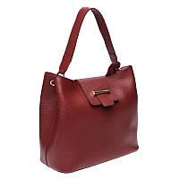 Женская сумка кожаная Ricco Grande 1L916-burgundy