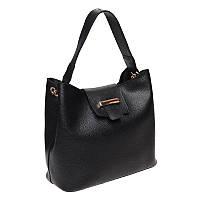 Женская сумка кожаная Ricco Grande 1L916-black