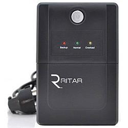 ИБП Ritar RTP850L-U (510W) Proxima-L, LED, AVR, 2st, USB, 2xSCHUKO socket, 1x12V9Ah, plastik Case ( 310 x 95 X