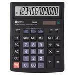 "Калькулятор бух. ""Optima"" 75529 (12-розр.) 146х105мм, чорний"