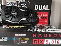 Видеокарта ASUS Radeon RX580 4GB GDDR5 256-Bit
