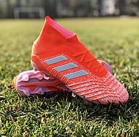 Бутсы (Адидас)   Adidas adidas Predator 19.1 Firm Ground Cleats - Orange