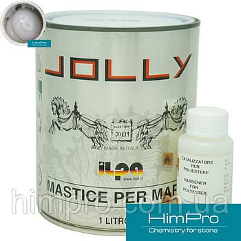 Tixo Glass 1L JOLLY Клей полиэфирный густой  прозрачно-молочный