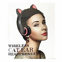 Bluetooth наушники с кошачьими ушками. Хит 2019 года.7 цветов