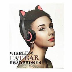 Bluetooth наушники с кошачьими ушками. Хит 2021 года.7 цветов