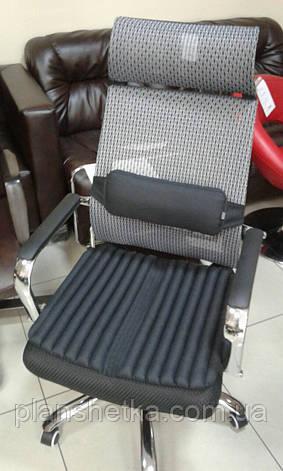 Ортопедичні подушки EKKOSEAT на крісло керівника, фото 2