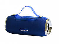 Портативна Bluetooth колонка Hopestar H40, синя, фото 1