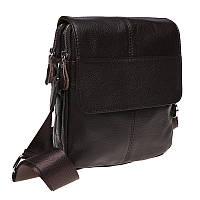 Мужская сумка кожаная Keizer K1B065-brown, фото 1