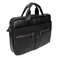 Мужская сумка кожаная Keizer K11120-black, фото 1