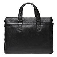 Мужская сумка кожаная Keizer K17218-black, фото 1