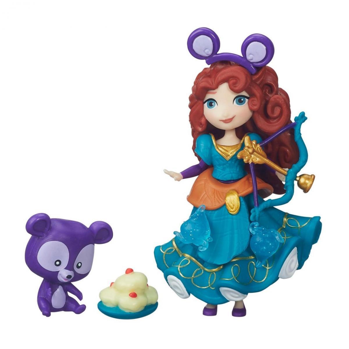Игровой набор  Hasbro Disney Princess 7.5 см-маленькая кукла Принцесса и ее друг Мерида B5332
