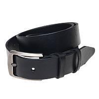 Ремень кожаный Borsa Leather br-125rmkn4-black