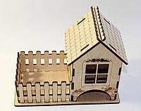 Чайный домик из дерева резной Kalinin арт 131