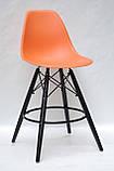Барний стілець Nik BK Eames, помаранчевий, фото 2
