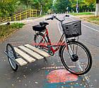 Электровелосипед с боковым прицепом Салют F-5 24 дюйма 350W 36v, фото 3