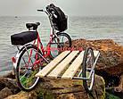 Электровелосипед с боковым прицепом Салют F-5 24 дюйма 350W 36v, фото 2