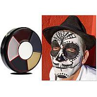 6 цветов краска боди-арт для лица макияж на хэллоуин, вечеринку 10 грамм