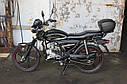 Мотоцикл SPARK SP125C-2XWQ (красный,черный,синий,белый) +Доставка бесплатно, фото 10