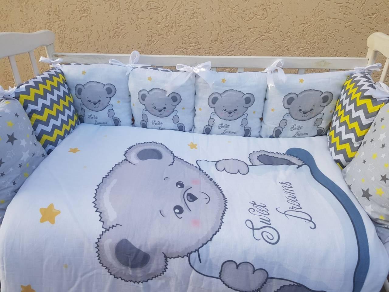 Постельный набор в кроватку Bonna Принт