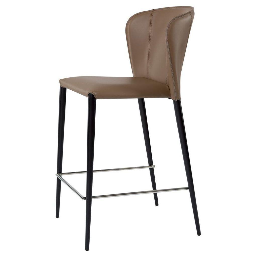 Барный стул ARTHUR (Артур) капучино кожа от Concepto
