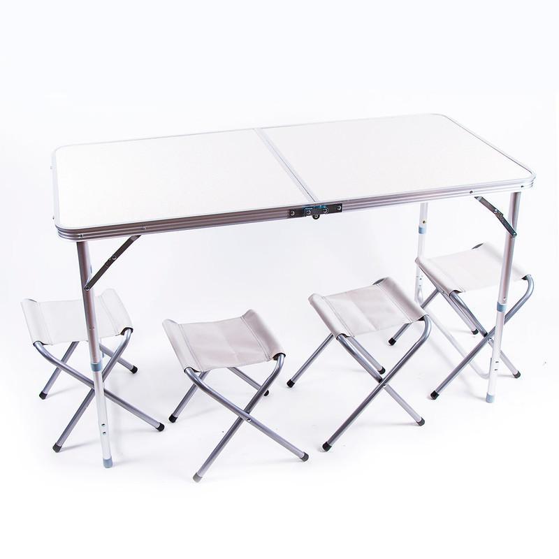 Стол туристический «HX-9004» складной + 4 стула