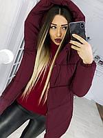 Куртка зимняя женская Зефирка пуховик пальто размеры 42 44 46 48  есть цвета