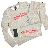 Костюм женский adidas спортивный из хлопка осенний