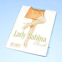 Колготки капроновые Ledy Sabina CLASSIK 20 DEN