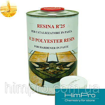 R25 Liquido1L JOLLY Жидкий полиэфирный клей для мрамора, гранита