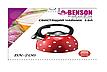 Чайник из нержавеющей стали со свистком Benson BN-706. 3л, фото 2