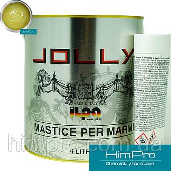 Tixo GOLD 4L JOLLY Полиэфирный двух-компонентный клей (прозрачно-медовый 4.4кг)