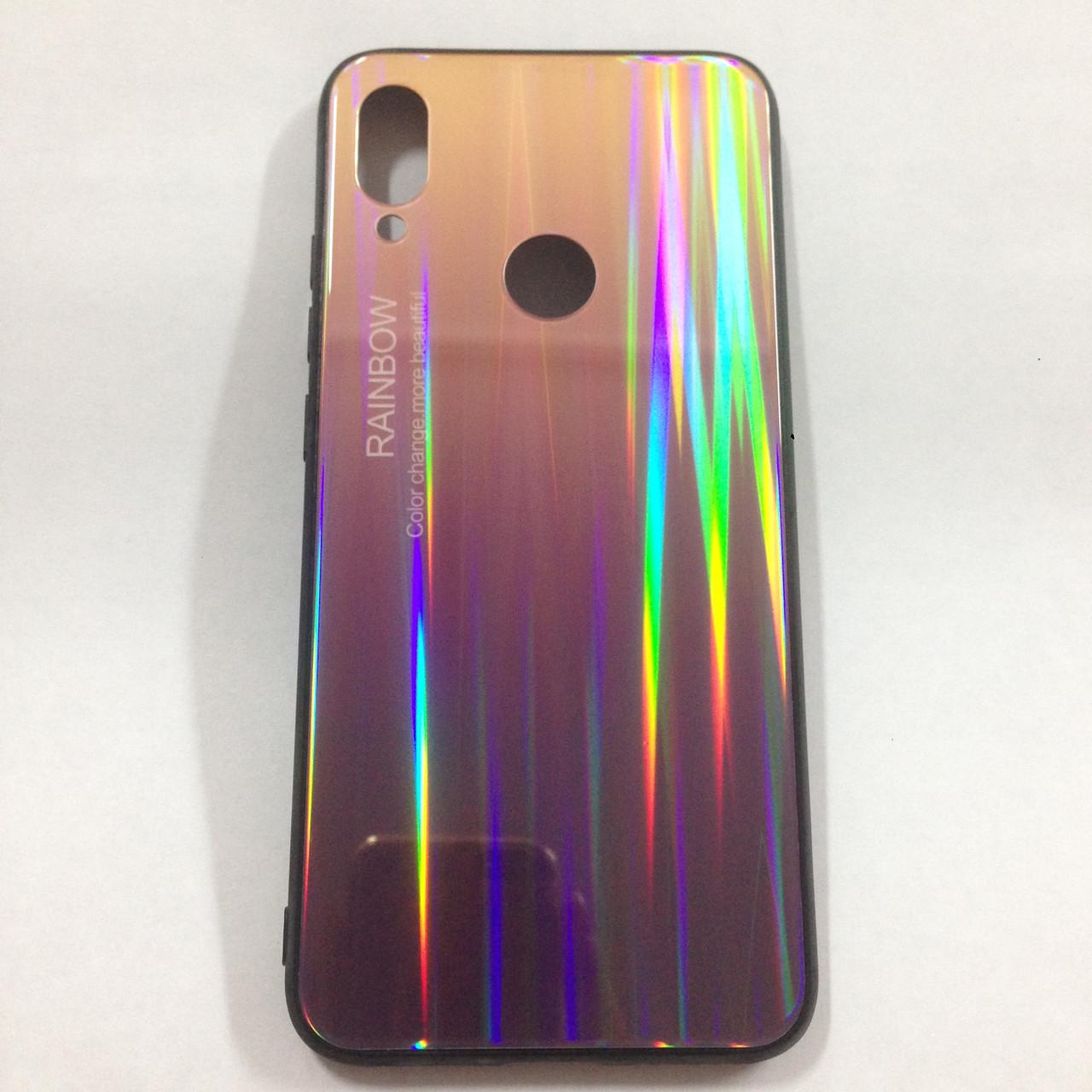 Чехол для Xiaomi Redmi Note 7 Rainbow Holografic