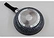 Сковорода Benson без крышки BN-513 (28 см) с антипригарным покрытием. бакелитовая ручка, фото 5