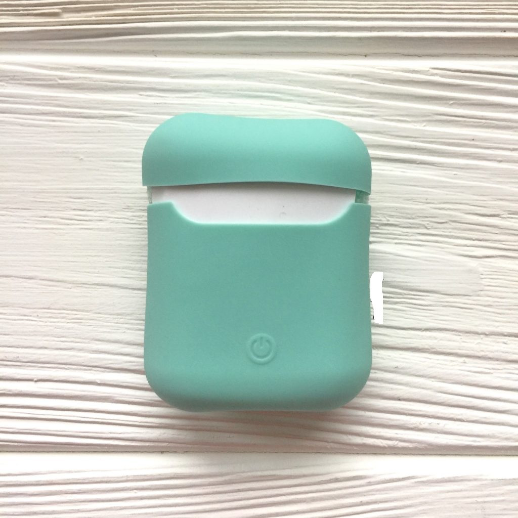 Чехол Ultra Slim для Apple AirPods, Mint Green