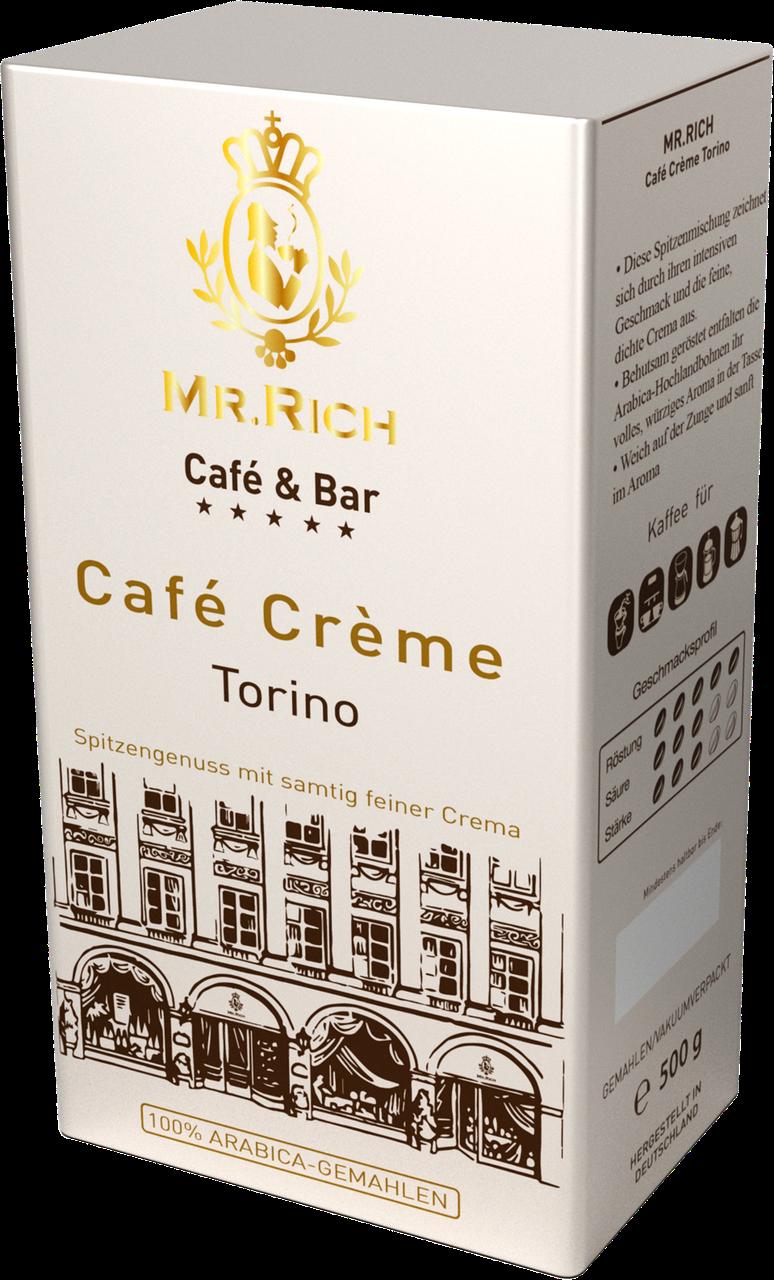 Mr.Rich Cafe Creme Torino 500 г. молотый
