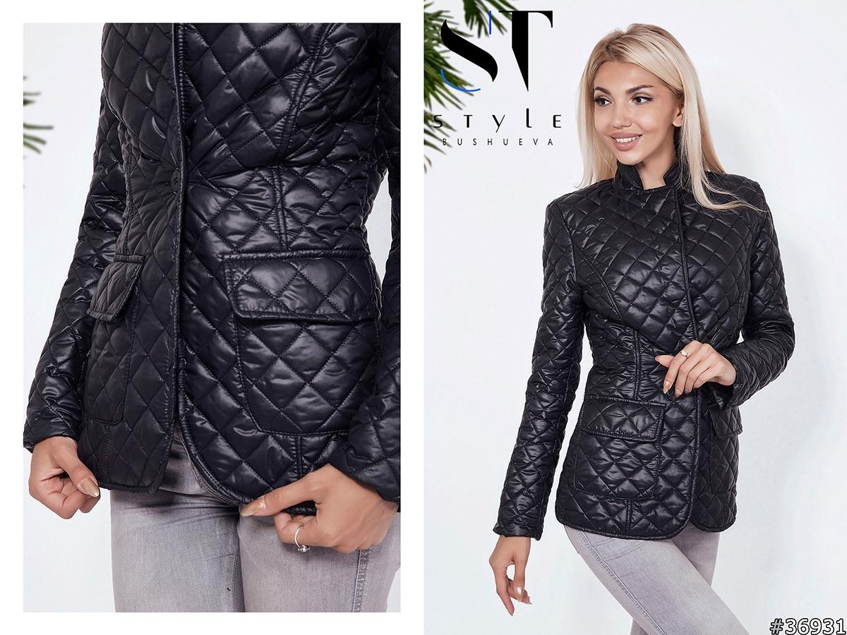 Элегантная куртка-пиджак