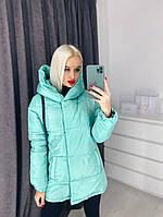Зимняя куртка на синтепоне 42-46 рр. разные цвета