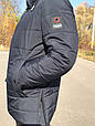 Мужская зимняя куртка Orlando синий (48-56), фото 2