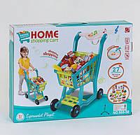 Тележка с продуктами (играет мелодия, светится), детская игрушка