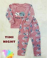 """Пижама детская """"Timi night"""" утепленная, фото 1"""