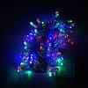 Гирлянда Нить электрическая 200 led, мульти, прозрачный провод, 10,5м., фото 2